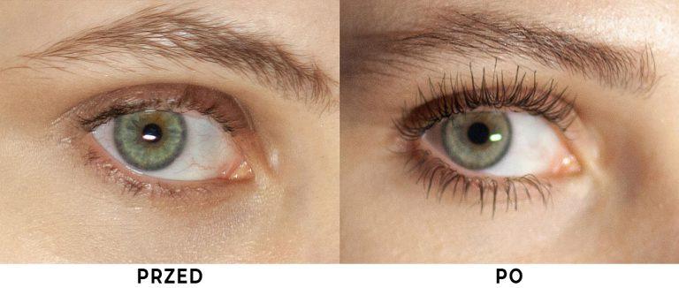 Nanolash - przed i po